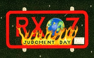 Judgment Day license plate www.devouringfire.com